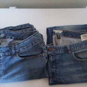 2 pairs Women's Jeans